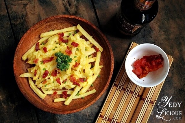 US Frozen Potato Easy Cheesy Fries Platter Recipe, USPB PH, United States Potato Board Philippines,Easy Potato Recipes, YedyLicious Manila Food Blog
