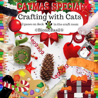 Crafting with Cats Catmas Special Banner ©BionicBasil®