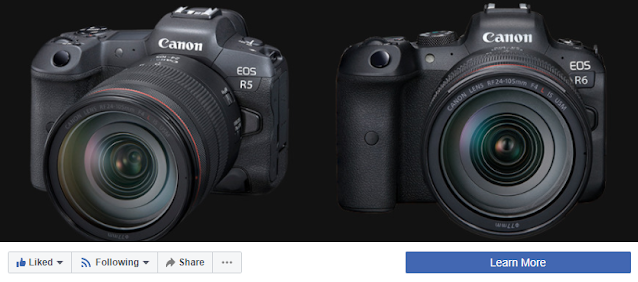 Visit / Like Canon Camera News Facebook Page