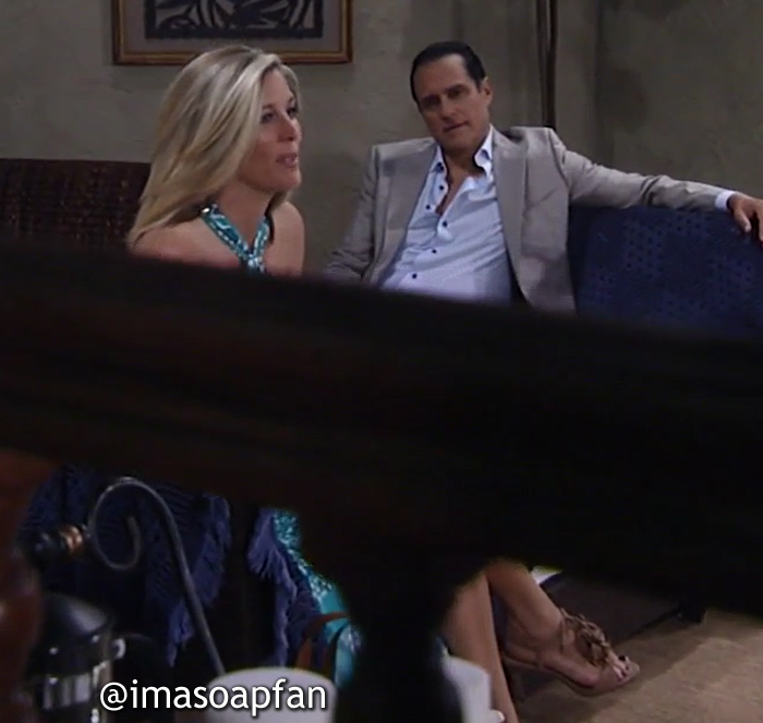 Carly and Sonny Corinthos, General Hospital