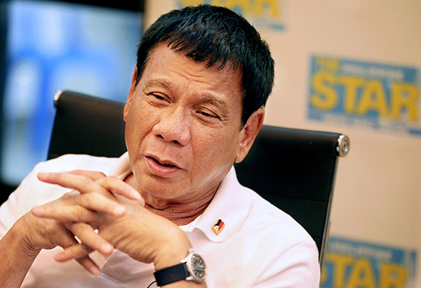 Duterte: No more media interviews until the end of my term