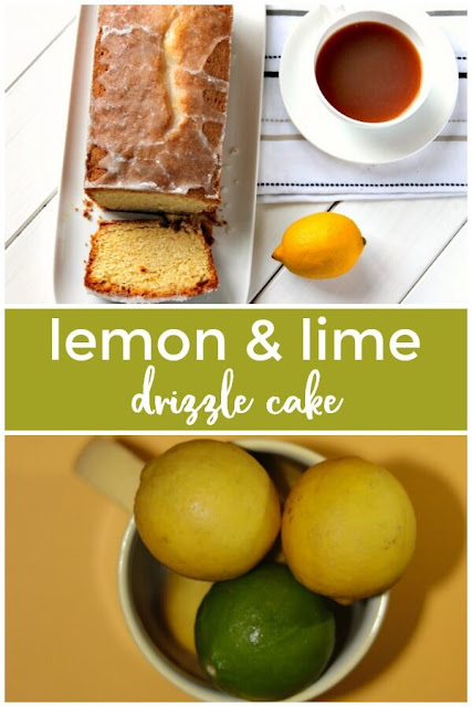 Lemon & Lime Drizzle Cake