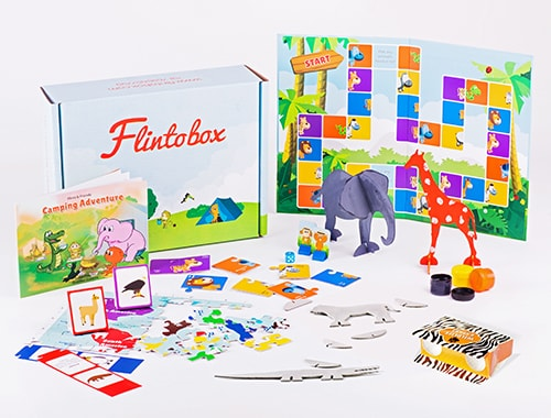 Flinto, Wildlife Safari, Activity Kit