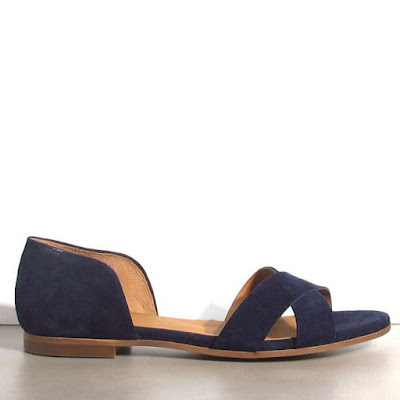 Sandales 33 Rivecour bleu marine