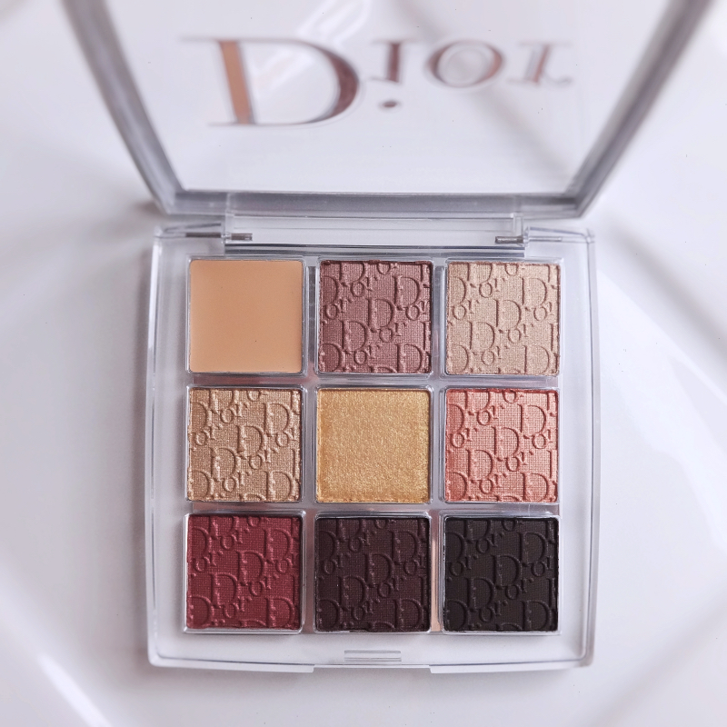 Dior Backstage Eye Palette 006 Bronze Neutrals review swatches