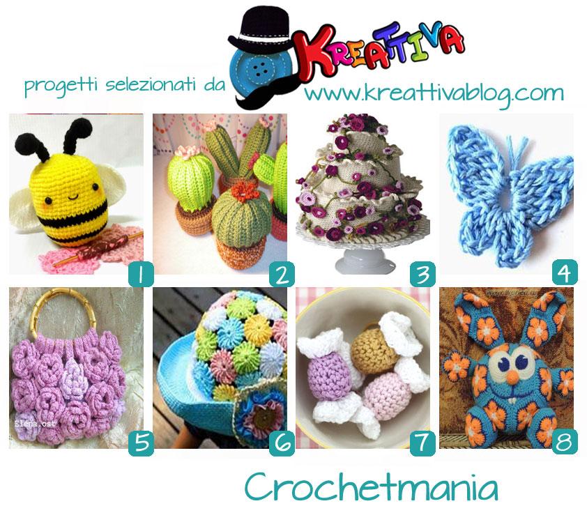 raccolta progetti crochet