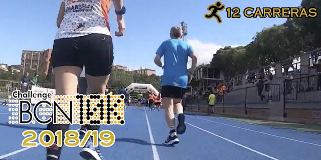 ChallengeBCN10K 2018/19 - 12 carreras