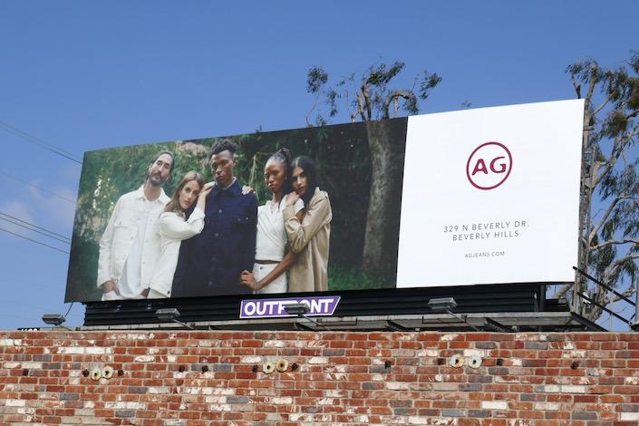 AG Jeans SS20 billboard