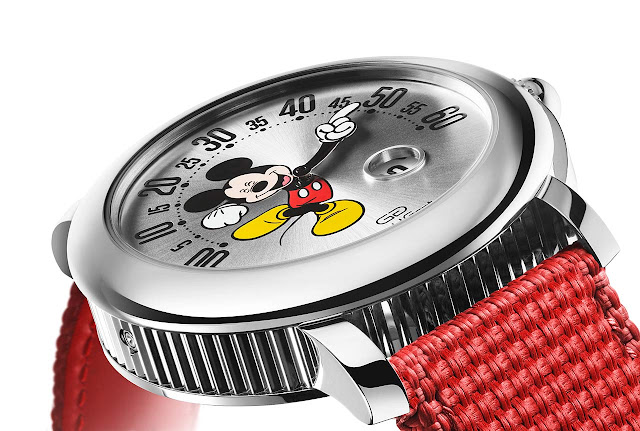 Bulgari Gerald Genta Arena Retrogade Mickey Mouse