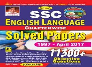 Kiran SSC English Grammar Full Solve Paper PDF