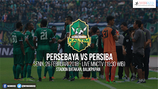 Live Streaming Persebaya vs Persiba