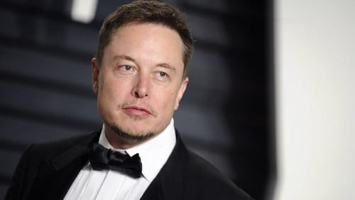 Elon Musk is the third richest man in the world
