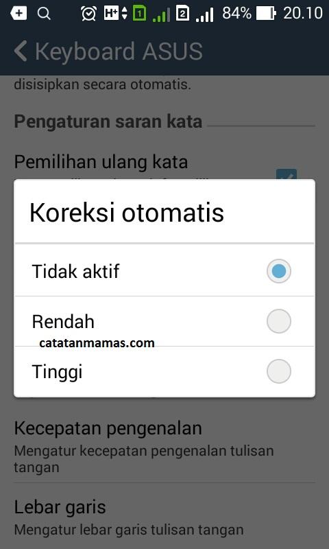 Cara Menghilangkan Prediksi Kata Pada Keyboard Android