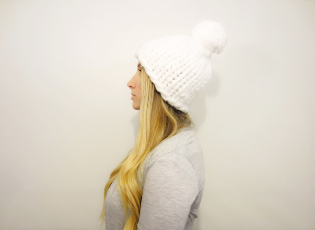 FAST & EASY KNITS HAT .PDF Pattern