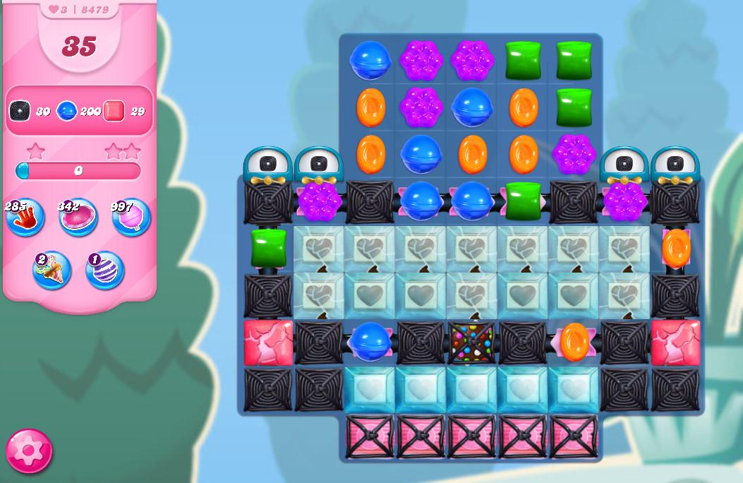 Candy Crush Saga level 8479