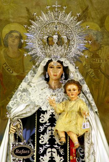 Horario e Itinerario Procesión de Nuestra Señora del Carmen  de la iglesia del Buen Suceso. Sevilla 09 de Noviembre del 2019