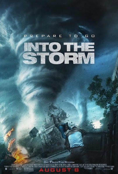 Poster Of Into The Storm 2014 720p BRRip Dual Audio