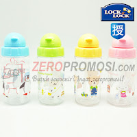 Lock & Lock Bisfree Botol Minum 360 ml With Silicon Straw ABF630