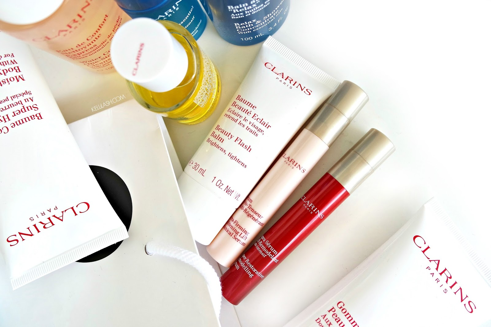 Clarins Super Beauty Gift Which 4 Will You Choose