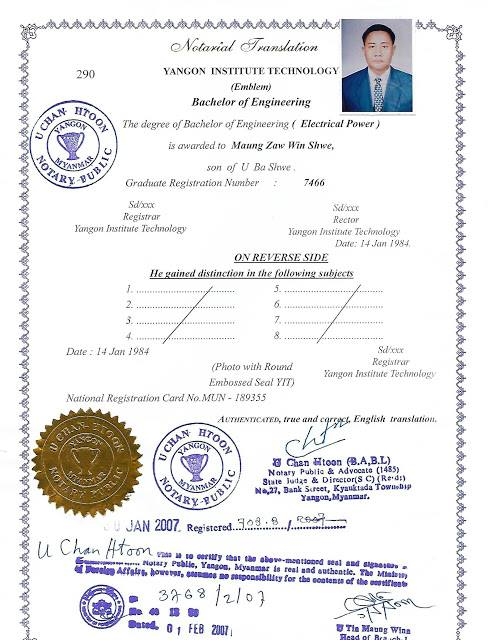 Bachelor of Engineering (Electrical Power)
