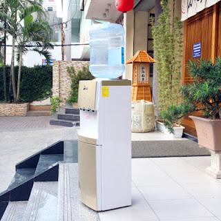 Cây nước nóng lạnh cao cấp 3 vòi fujie wdbd20c chính hãng