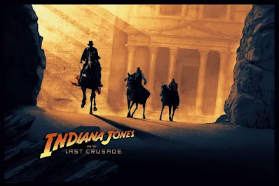 "Indiana Jones and the Last Crusade ""Illumination"" Screen Print by Matt Ferguson x Bottleneck Gallery"