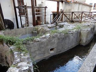 アマルフィのMuseo della Cartaの水路