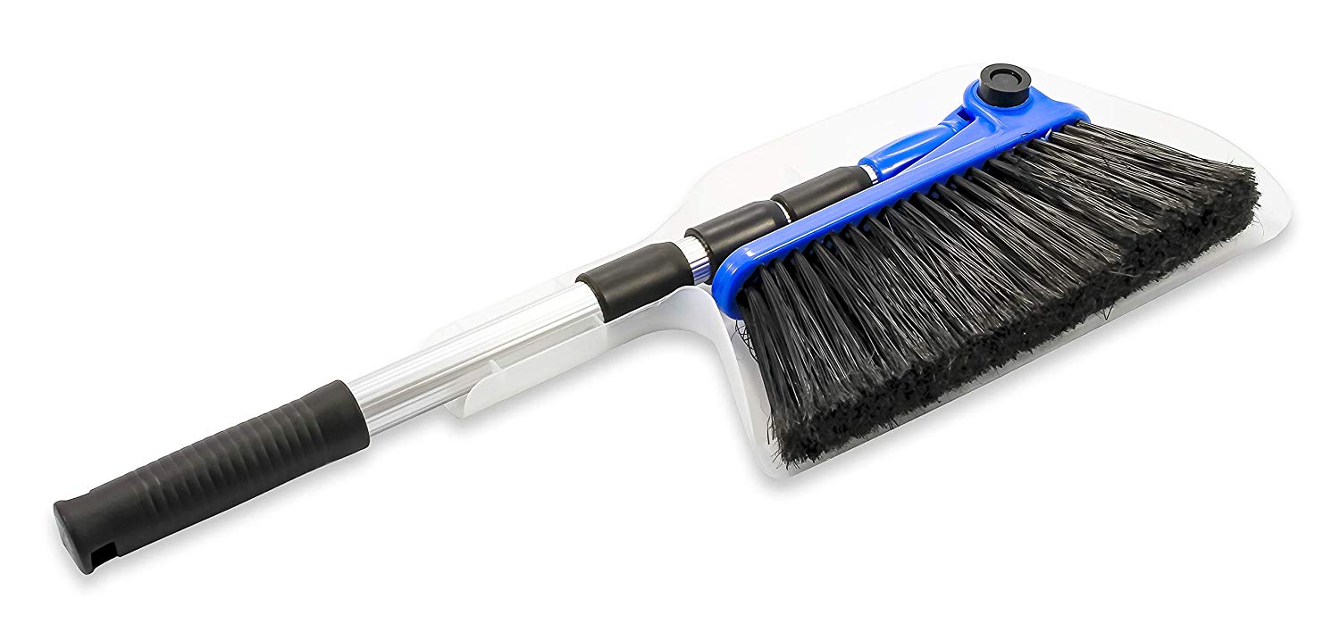 Keep your RV interior clean with this collapsible broom.
