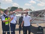 Dukung Program Pemulihan Ekonomi Nasional, Anggota Komisi V DPR RI Bambang Hermanto Lakukan Kunjungan Kerja Ke Bandara Udara Cirebon