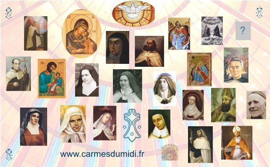 Saints Ordre du Carmel