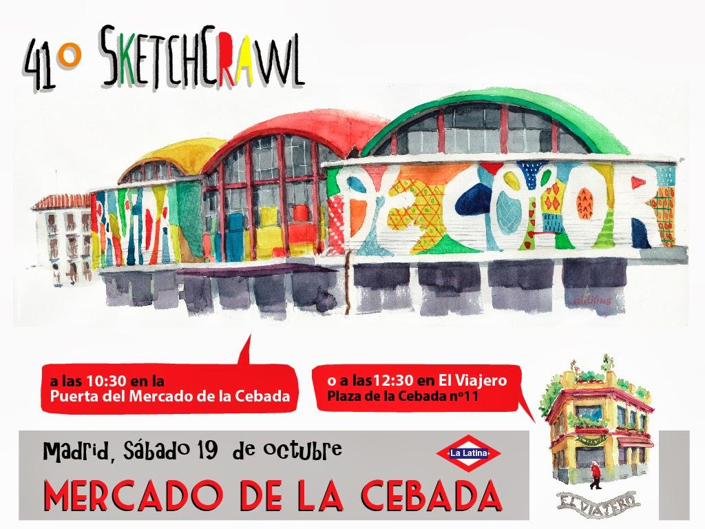 Concurso De Dibujo Urbano En Libreta Fnac Madrid: Madrid A Trazos: Octubre 2013