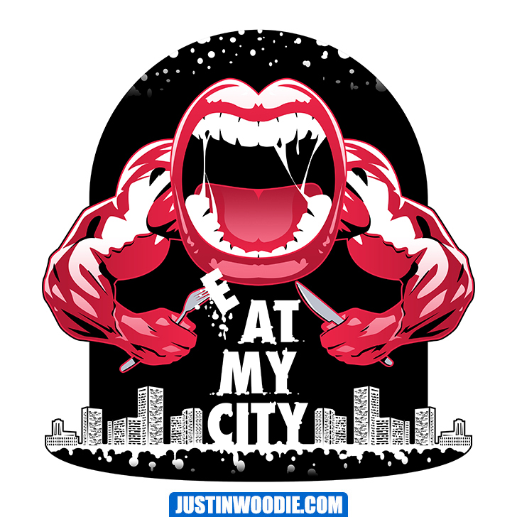 Eat My City Graphic Logo Design