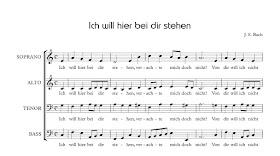 'Ich will hier bei dir stehen' from Bach's St Matthew Passion