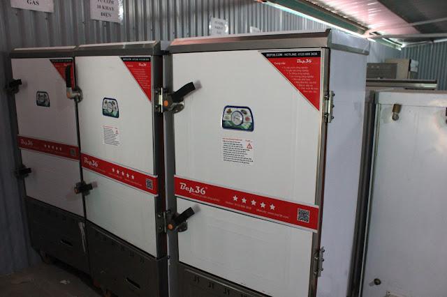 Phân phối tủ nấu cơm công nghiệp tại Thanh Hóa