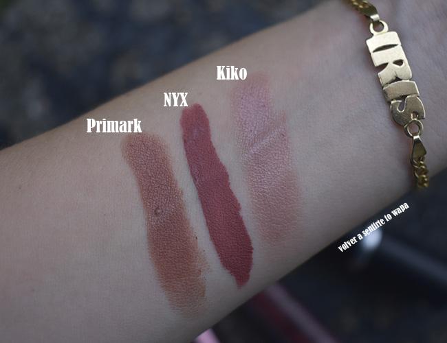Lipsweek - Primark - NYX - Kiko