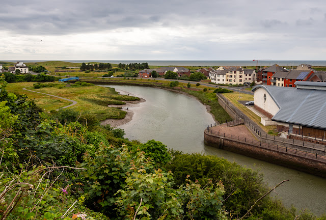Photo of the River Ellen from The Settlement in Maryport