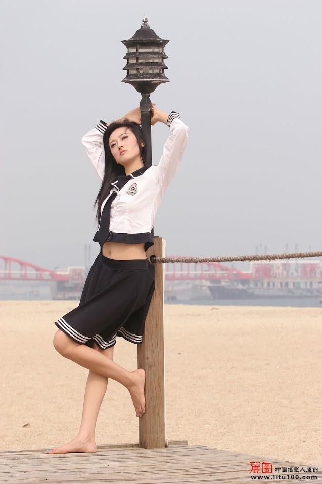 [Litu100.Com] Zhang Tian Yi - Sea Side 1