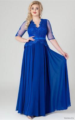 Vestidos Azules Largos de Fiesta
