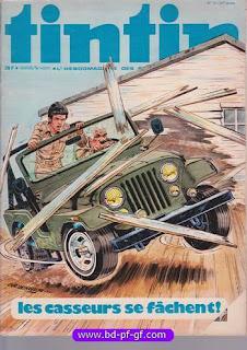 Tintin numéro 13, 1976, Les casseurs