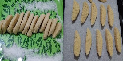 şekerli kurabiye yapılışı