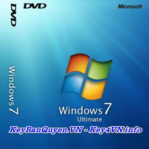 Mua bán key bản quyền Windows 7 Ultimate Full 32 và 64 Bit .