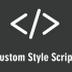 Tarayıcılar için özel css - Custom CSS