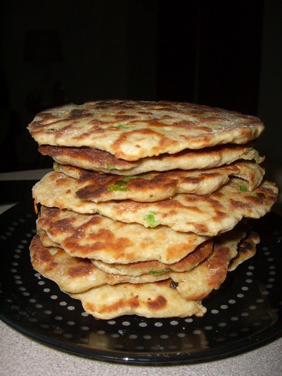 Green Onion Kulcha - Better Than Na'an, If That's Possible