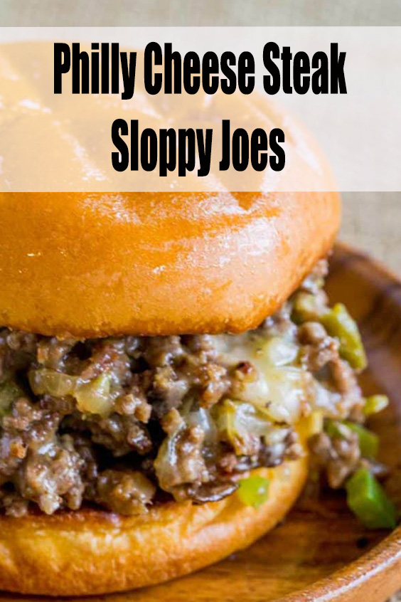 MUST TRY! Philly Cheese Steak Sloppy Joes