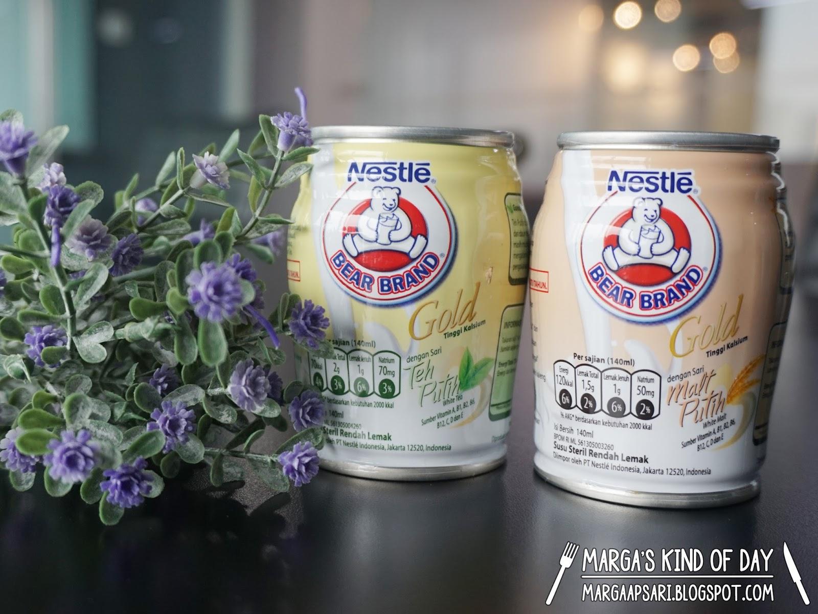 Manfaat Bear Brand Gold Sebagai Susu Steril Rendah Lemak Dan Tinggi Kalsium Marga S Bucket List