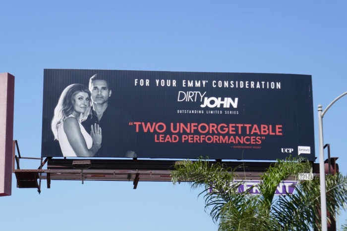 Dirty John 2019 Emmy FYC billboard