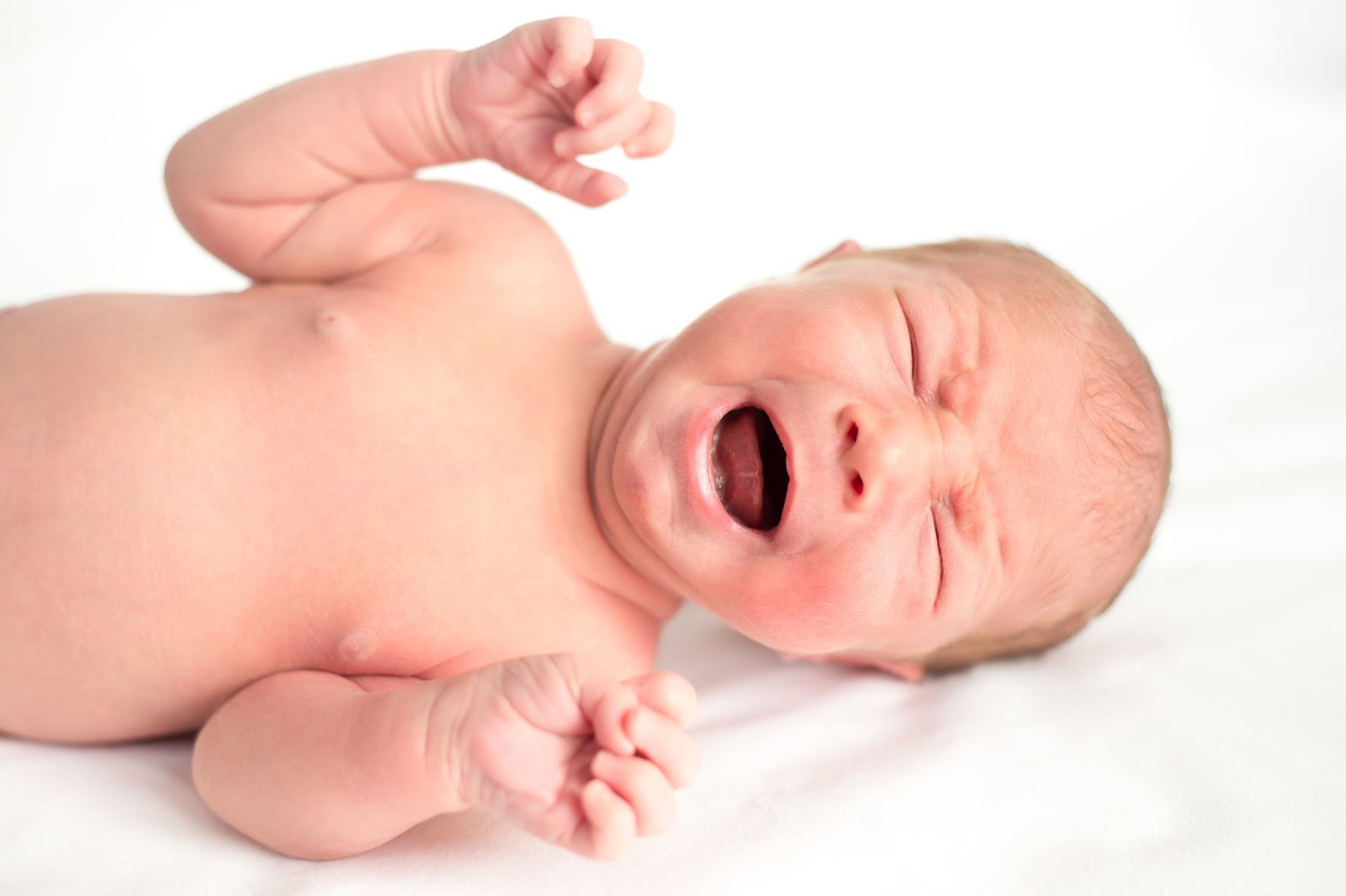 Bir bebekte alerji umutsuzluğa sebep değildir