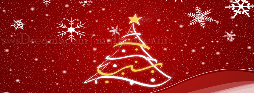 Free Facebook Cover Merry Christmas Time Line Photo Part 2
