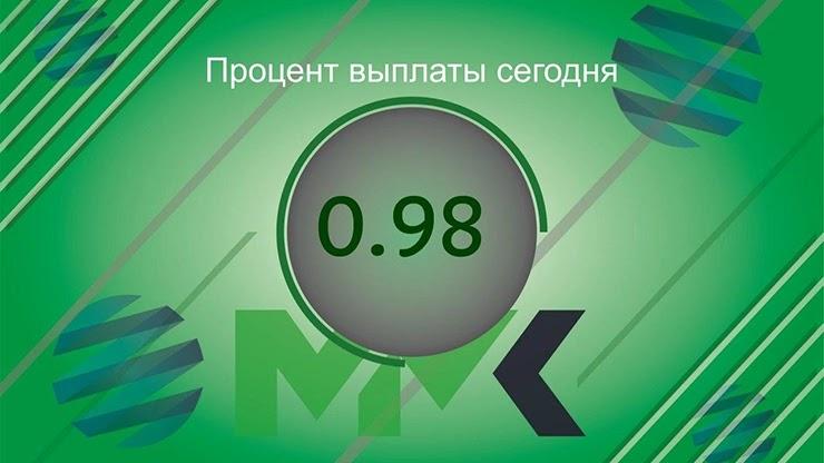 Отчет о выплатах от MMK Investment