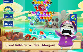Bubble Witch Saga 3 Mod Apk Terbaru 2017 v2.4.7 (Mod Unlimited Gold)
